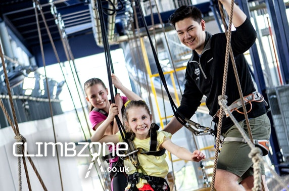 Climbzone activities, Braehead