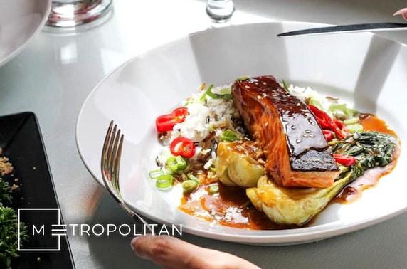 Metropolitan Merchant City Sunday dining