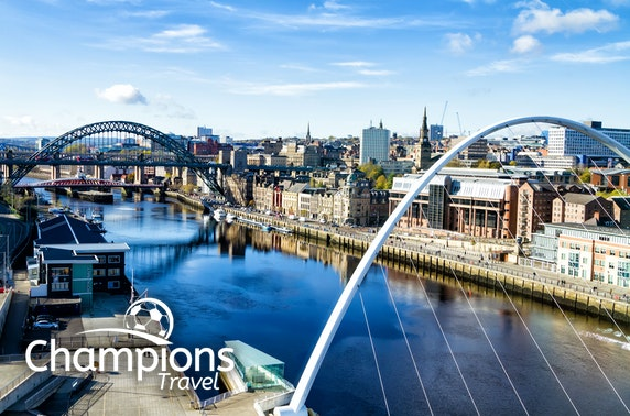 Newcastle United hospitality tickets & stay