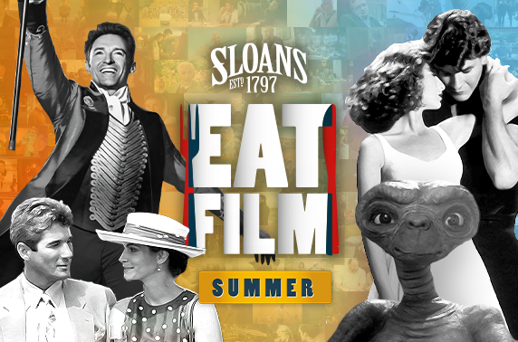 EatFilm Summer at Sloans