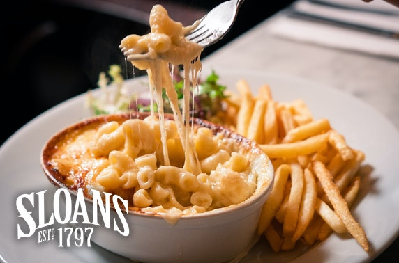 Sloans mac & cheese