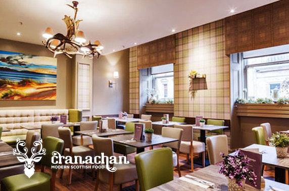Cranachan dining, Princes Square