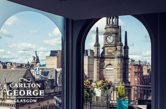 4* Carlton George Hotel afternoon tea