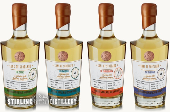 Stirling Distillery whisky experience