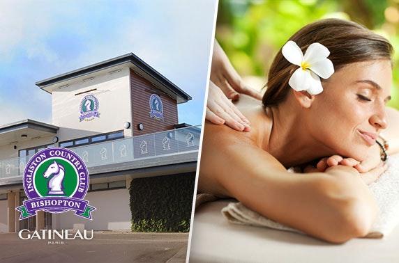 Ingliston Country Club award-winning spa treatments