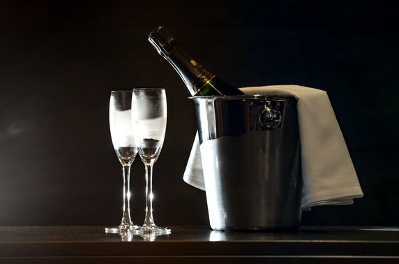 Champagne dining at Dine