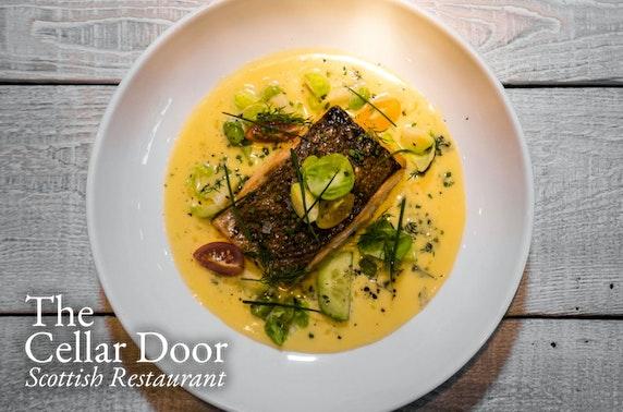 The Cellar Door tasting menu, Old Town