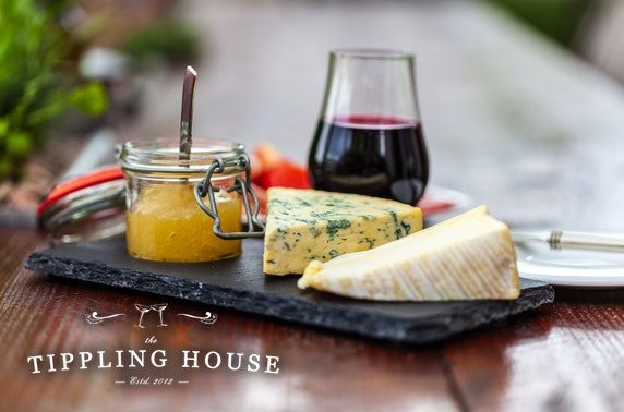 The Tippling House wine & cheeseboard