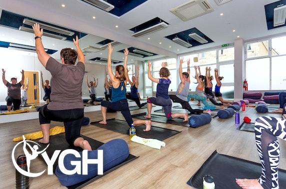Award-winning Yoga's Got Hot classes