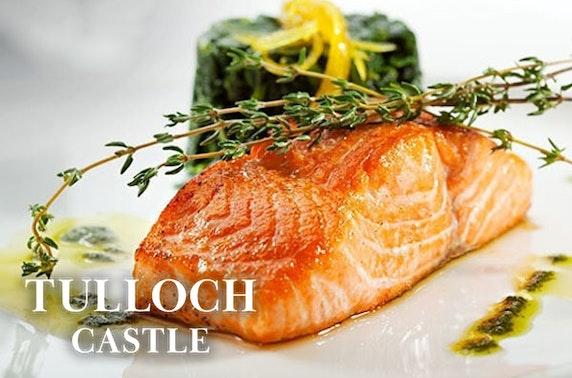 4* Tulloch Castle Hotel stay