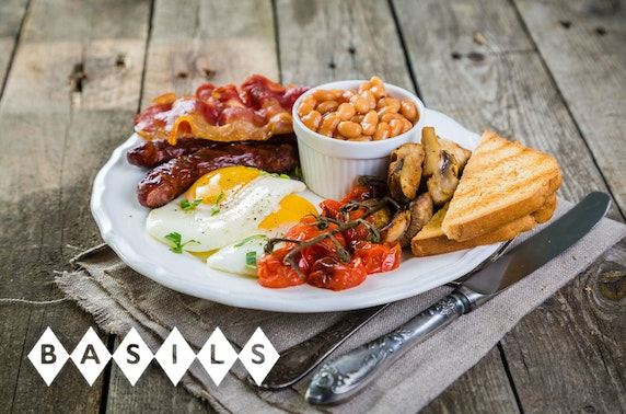 Basils, Newhaven brunch or lunch