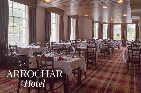The Arrochar Hotel getaway