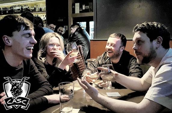 CASC Bar sharing platter and drinks