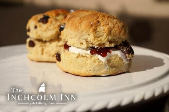 The Inchcolm Inn afternoon tea