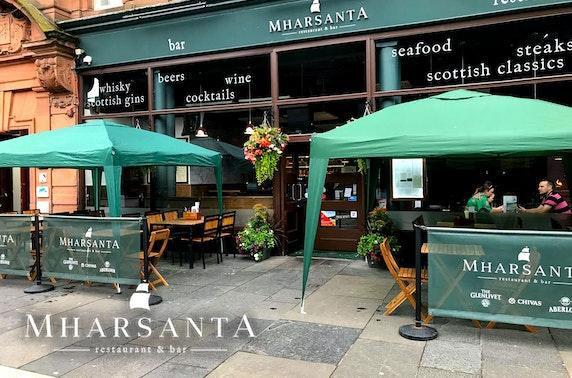 Mharsanta afternoon tea, Merchant City