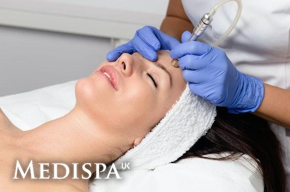 UK Medispa luxury facials