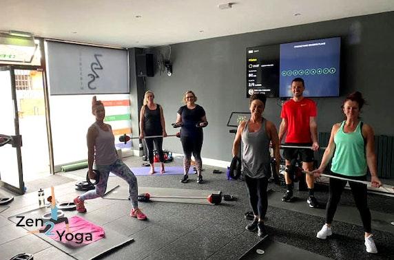 Fitness classes, Falkirk