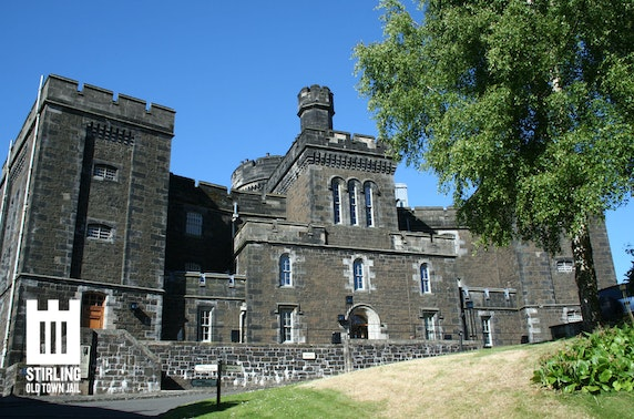 Stirling Old Town Jail entry