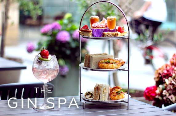 Spa day & afternoon tea