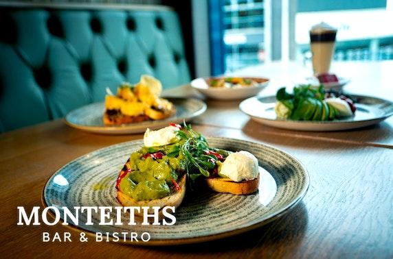 Monteiths Bar & Bistro brunch