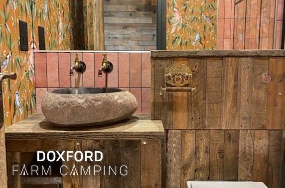 Northumberland luxury glamping