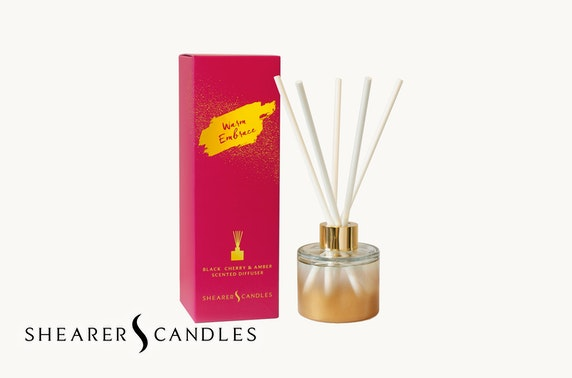 Shearer Candles Golden Moments collection