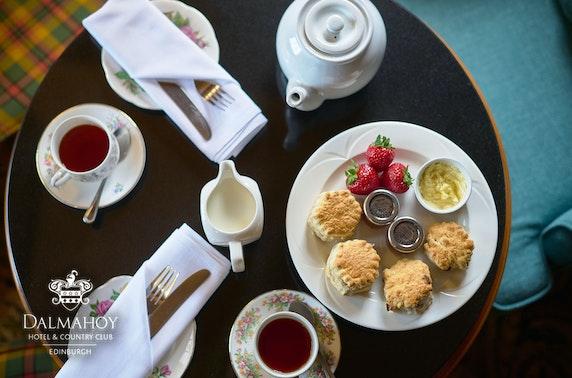 Cream tea at  Dalmahoy Hotel & Country Club