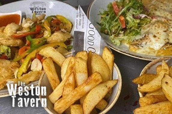 Award-winning The Weston Tavern lunch
