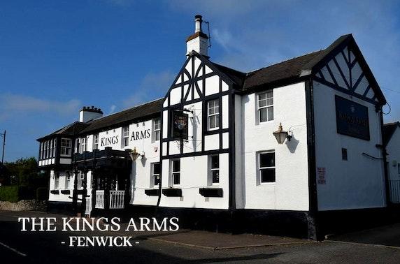 Kings Arms Fenwick lunch
