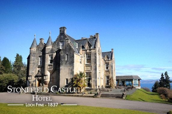 4* Stonefield Castle stay, Loch Fyne