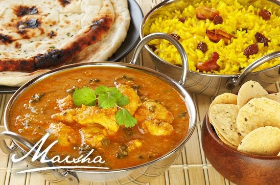 Indian dining at Maisha, St Andrews