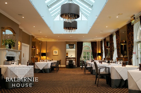 4* Balbirnie House Hotel, Fife