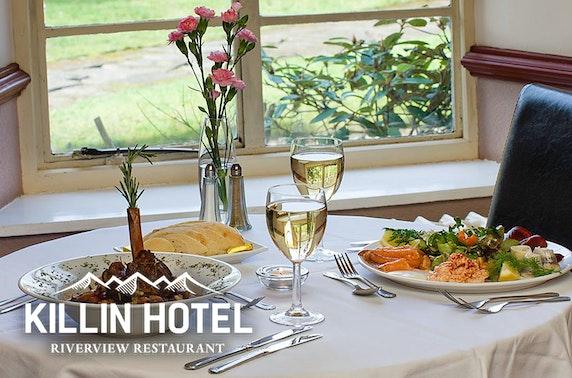 Killin Hotel stay, Perthshire