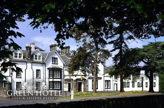 Murder mystery at The Green Hotel