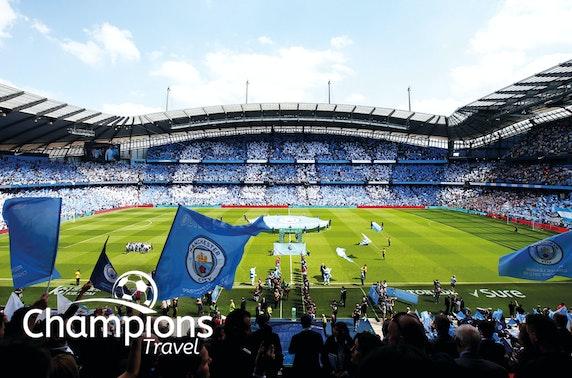 Man City vs Burnley hospitality tickets