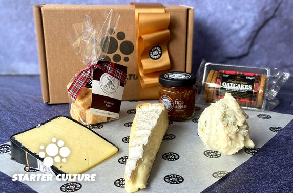 Starter Culture cheese hampers