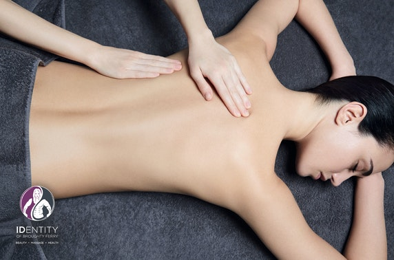 Award-winning Identity of Broughty Ferry massage