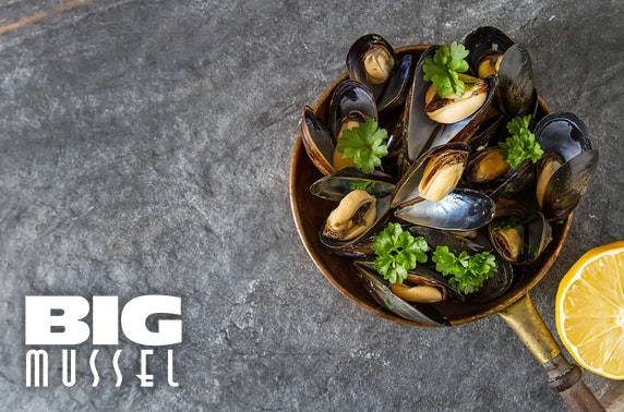The Big Mussel seafood dining, Quayside