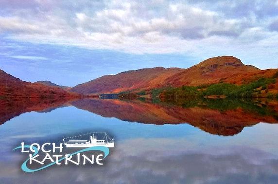 Loch Katrine cruise & lunch