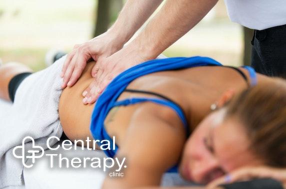 Back or neck injury consultation
