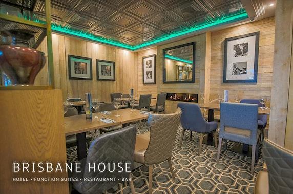 Brisbane House Hotel afternoon tea, Largs
