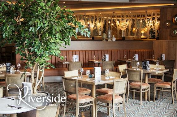4* Riverside Lodge Hotel dining