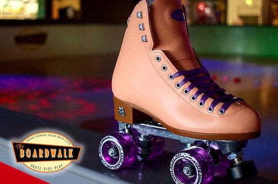 Roller skating, Ocean Terminal
