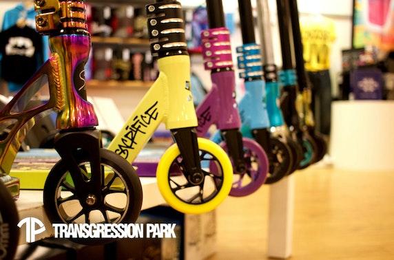 Transgression Skatepark, Ocean Terminal
