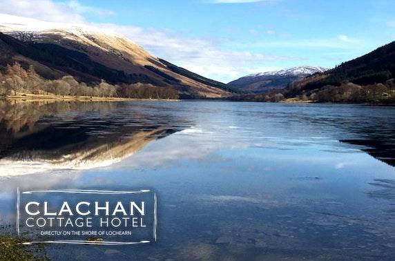 The Clachan Cottage Hotel, Loch Earn