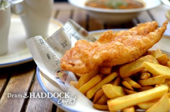 Fish supper at Dram & Haddock, St Andrews