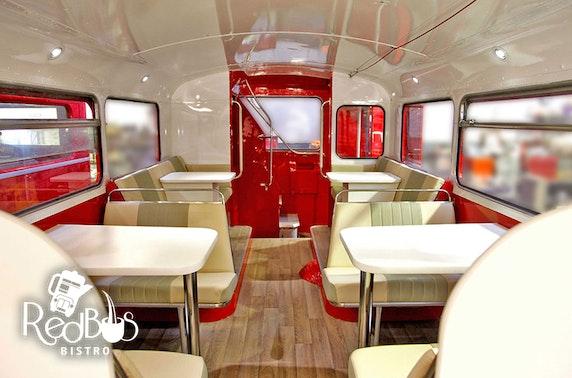 Glasgow Red Bus Bistro afternoon tea tour