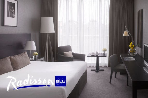 4* Radisson Blu Glasgow City Centre stay
