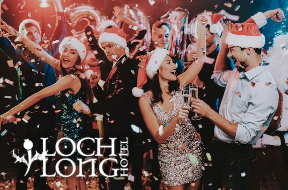 Christmas party overnight, Loch Long Hotel