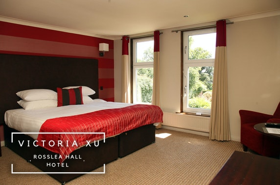 4* Rosslea Hall Hotel stay